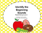 Identify the beginning sounds