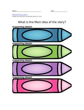 Identify the main idea  : The DULL Crayon