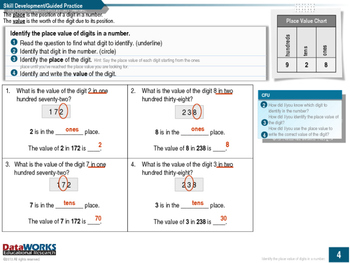 Identify the Place Value of Digits in a Number