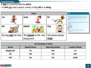 Identify verbs
