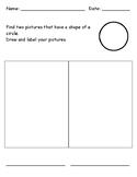 Identifying 2D Shape - Circle