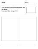 Identifying 2D Shape - Rectangle