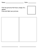 Identifying 2D Shape - Square