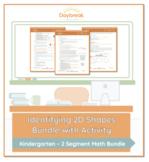 Kindergarten Math | Identifying 2D Shapes