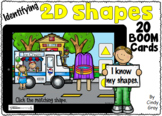 Identifying 2D Shapes ~ BOOM Cards ~ Distance Learning