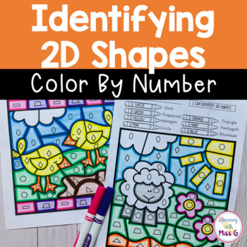 Identifying 2D Shapes Color By Code