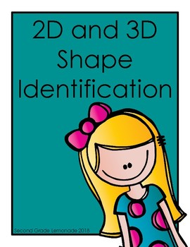 Identifying 2D and 3D Shapes