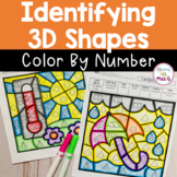 Classifying 3D Shapes Color By Code