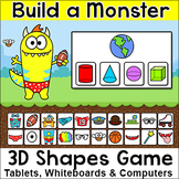 Identifying 3D Shapes in the Real World - Build a Monster Geometry Game