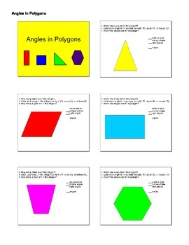 Identifying Acute, Obtuse, and Right Angles in Polygons