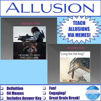 Identifying Allusions in Pop Culture and Literature