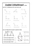 Identifying Angles - Assessment