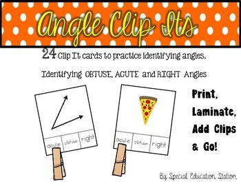 Identifying Angles Clip It