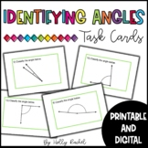 Identifying Angles Task Cards - Distance Learning