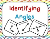Identifying Angles Task Cards