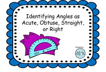 Identifying Angles Visually