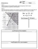 Identifying Answers of System of Inequalities - Common Core Style