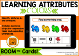 Identifying Attributes {COLORS} Boom Cards™ for Distance Learning