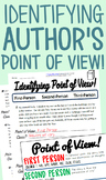 Identifying Author's Point of View Practice Pack (First, S