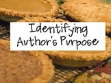 Identifying Author's Purpose PowerPoint & Practice Passages and Answer Choices