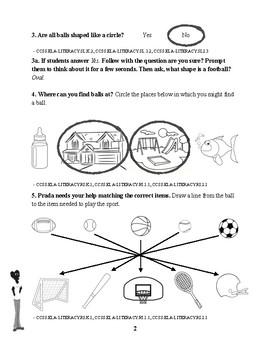 Identifying Balls Assessment - Teacher's Guide