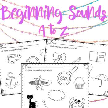 Identifying Beginning Sounds