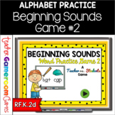 Identifying Beginning Sounds - Teacher vs. Student Game 2
