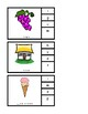 Identifying Beginning Sounds in words Clip card Task Box
