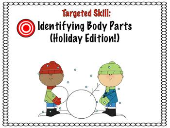 Identifying Body Parts for Preschool (Holiday)