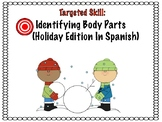 Spanish Identifying Body Parts for Preschool