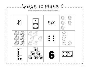 Identifying, Building and Comparing Numbers 6-10