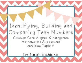 Identifying, Building and Comparing Teen Numbers