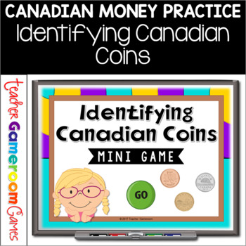 Identifying Canadian Money Mini Powerpoint Game