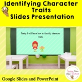 Identifying Character Traits | Distance Learning