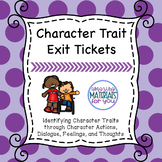 Identifying Character Traits - Any Text
