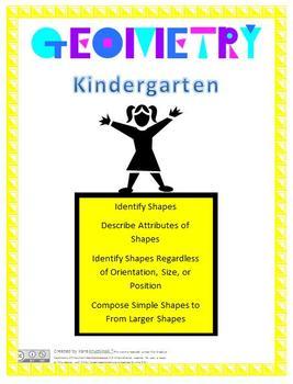 Shape Attribute Lesson Plan - Kindergarten