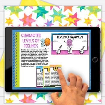 Character Traits Feelings Motives 3rd Grade RL3.3