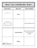 Identifying Cloud Types Worksheet- Chart