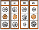 Identifying Coin Values Clip Strips