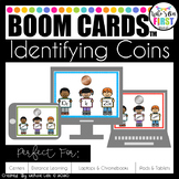 Identifying Coins Boom Cards