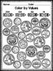 Identifying Coins Coloring Worksheet
