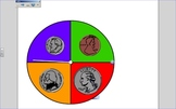 Identifying Coins and Coin Values Coin Spinner