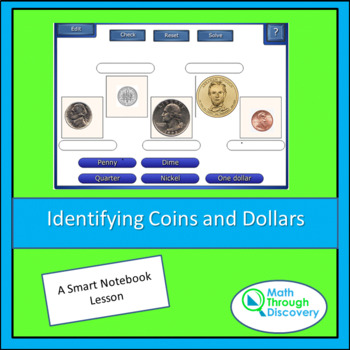 Identifying Coins and Dollars