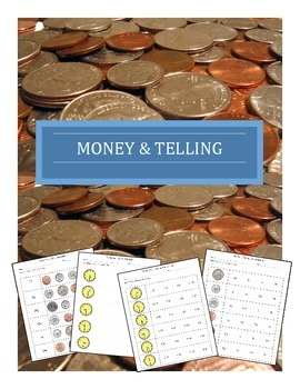 Money and Telling Time Worksheets