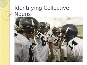 Identifying Collective Nouns