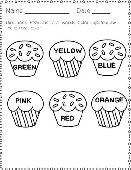 Identifying Colors