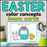 Identifying Colors for Easter | BOOM CARDS™