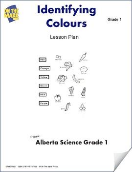 Identifying Colours Lesson Plan Grade 1