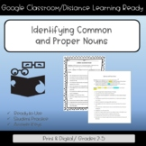 Identifying Common and Proper Nouns
