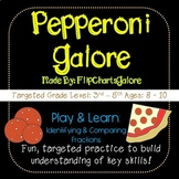 Identifying & Comparing Fractions Learning Game - Pepperoni Galore - 3rd Grade